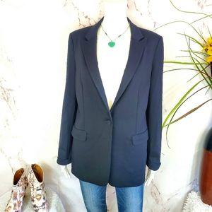 Kay Unger New York back lined stretch blazer